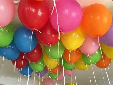 50 Assorted Qualatex Loose Balloons Helium Filled, 50