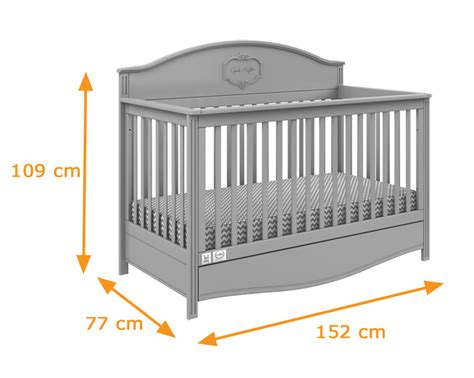 Toddler Bed Measurements by Lilly Cot Bed In White Convertible Funique Co Uk