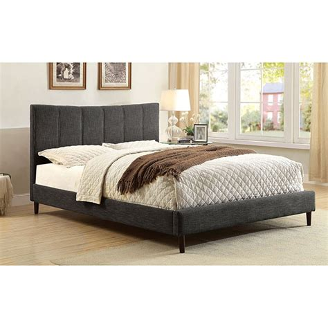 furniture of america ennis brand new gray size bed