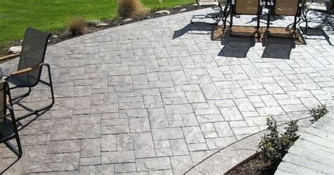 Ready Mix Patio Grout by Ashler Slate Sted Concrete Patio Traditional Patio