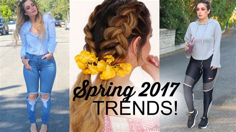 spring hair clothing trends festival outfit ideas