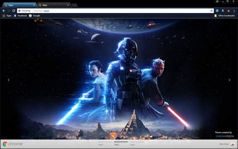 theme google chrome star wars star wars battlefront ii 2017 chrome theme chromeposta
