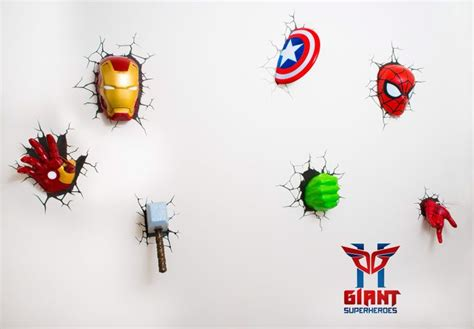 3d deco superhero wall 3d superhero wall light the best night lights for your