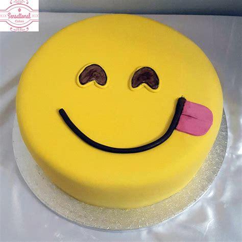 Emoji Birthday Cake | emoji birthday cake sensational cakes