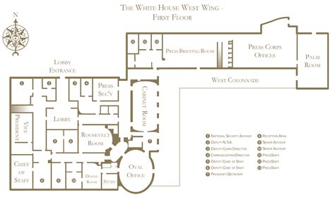 West Wing White House Floor Plan | file white house west wing floorplan1 svg wikipedia