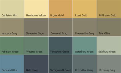 Benjamin Moore Historical Paint Colors | color company colour