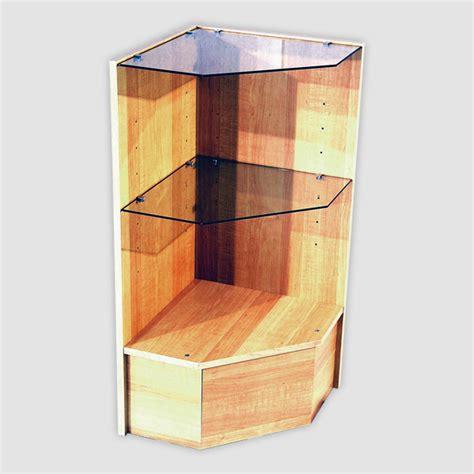 wooden showcase wood pentagon corner case showcase wood pentagon corner