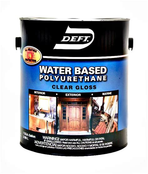 Based Or Water Based Polyurethane For Floors by Buy The Deft 25701 Polyurethane Finish Gloss Water Based