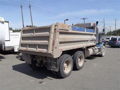 kenworth tandem dump truck 2006 kenworth t800 tandem dump truck diesel w air brakes