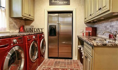 Built In Laundry Cabinets by Where Would You Place The Fridge In Your Home