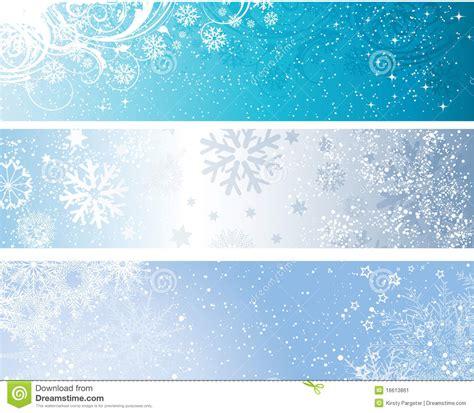 winter banners stock vector illustration  star grunge