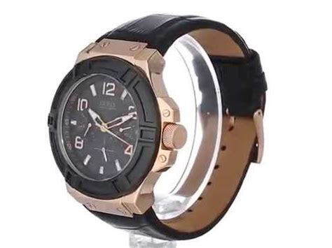 Guess W0041g2 Brown Rosegold leavingsel guess rigor brown doovi
