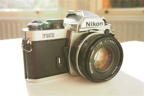 recommended nikon film camera nikon fm2 slr film camera with 50mm nikon lens one of the