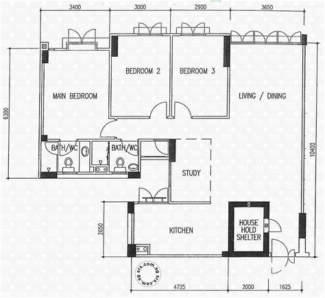 centralized floor plan floor plans for 645 punggol central s 820645 hdb details