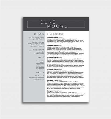 free resume templates pages free download resume cv free creative
