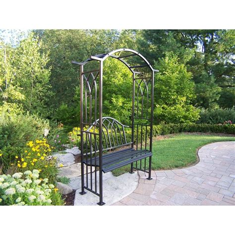 arbour bench garden bench with arbor decor ideasdecor ideas
