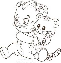 daniel tiger coloring baby margaret the of daniel tiger coloring pages