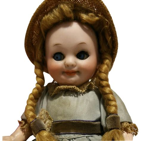 Wig A11 deliciuos antique doll armand marseille 323 a11 0m googly