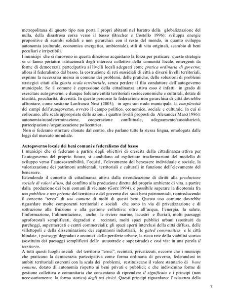 Alberto Magnaghi - Dalla partecipazione all'autogoverno