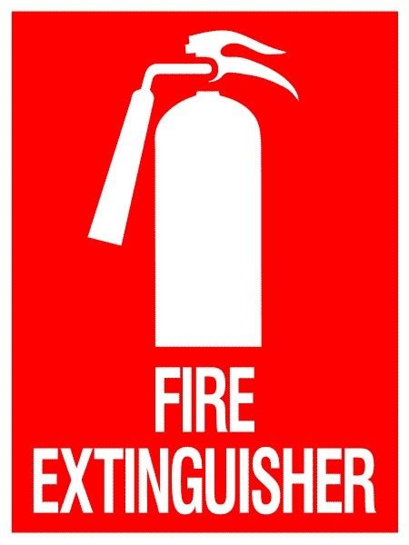 Custom Wall Stickers Australia em65 signs of safety fire extinguisher signs fire signs