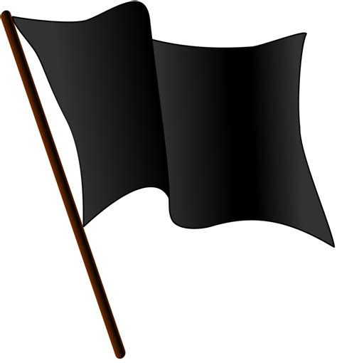 Flag Black file black flag waving svg wikimedia commons
