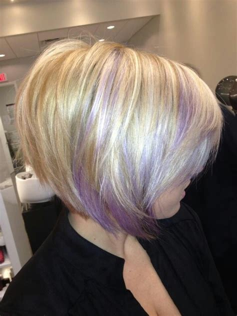 cute peekaboo highlights another peek a boo color idea maybe with pink though the