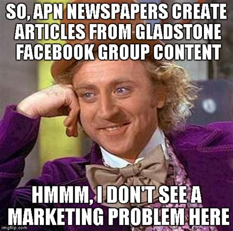 Create Facebook Meme - creepy condescending wonka meme imgflip