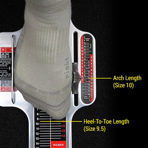 how much toe room in shoes fitting footjoy