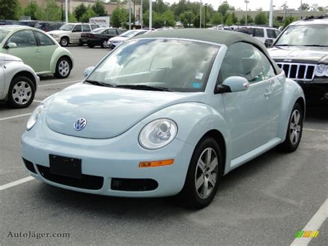 blue volkswagen convertible 2006 volkswagen new beetle 2 5 convertible in aquarius