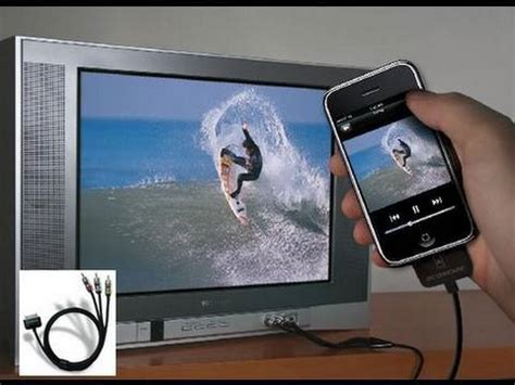 Iphone To Tv How To Display Your Iphone Ipod Touch On A Tv Tvout2