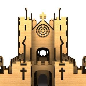 huge medieval castle  woodworking project launch