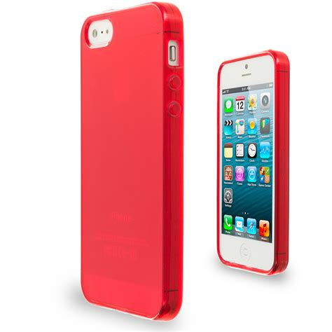 color clear transparent tpu plain rubber skin cover for apple iphone 5 5g ebay