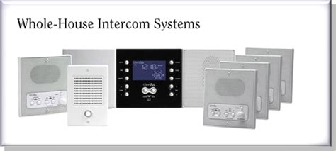 house intercom system whole house intercom system 28 images wholehouse open voice intercom best whole