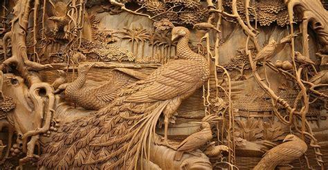 imagenes de paisajes tallados en madera el tradicional y fabuloso arte de tallado en madera chino