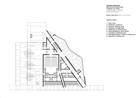 auditorium floor plan architecture google gallery of curno public library and auditorium archea
