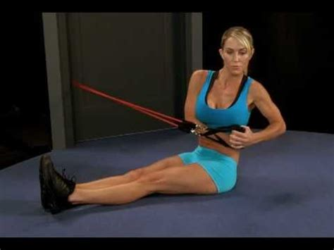 stomach exercise seated ab twist