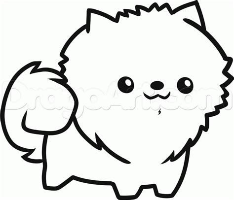 how to draw a pomeranian puppy how to draw a pomeranian breeds picture