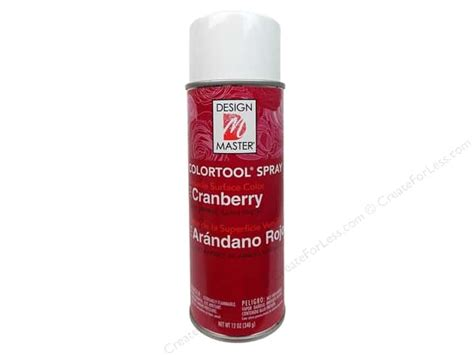 spray painter masters design master colortool spray paint cranberry 12 oz