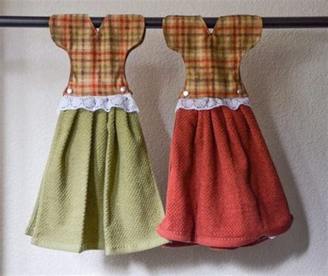 pattern for dress kitchen towel cute hanging dish towel dress pattern the whoot