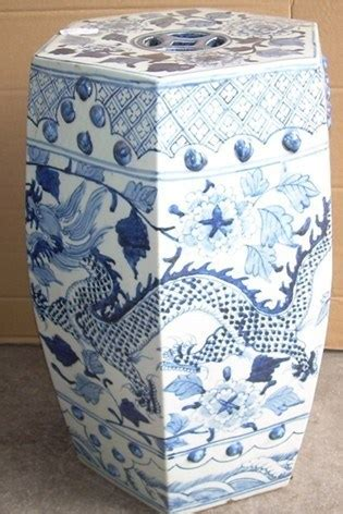 blue and white porcelain ls blauw en white porcelain stool ls 25 blauw en white