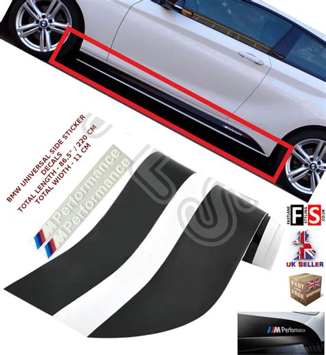 Bmw Original Sticker by Bmw 1 Series E81 82 87 88 Performance Side Sticker Skirts