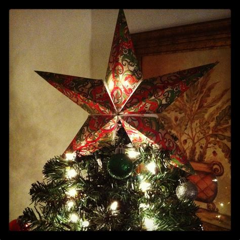 diy xmas tree top star diy tree topper all you need to create this gorgeous lone is cardstock