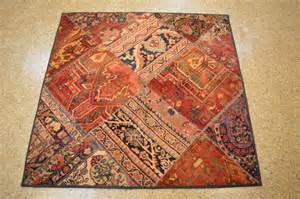 Square Area Rugs 5x5 Handmade 5x5 Square Patchwork Rug Ebay