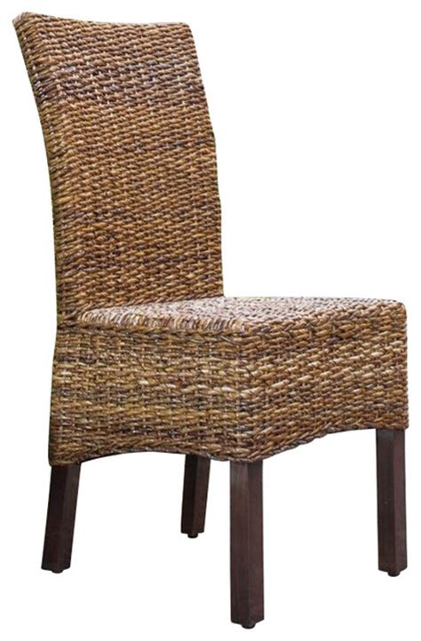 international caravan bali arizona woven abaca dining