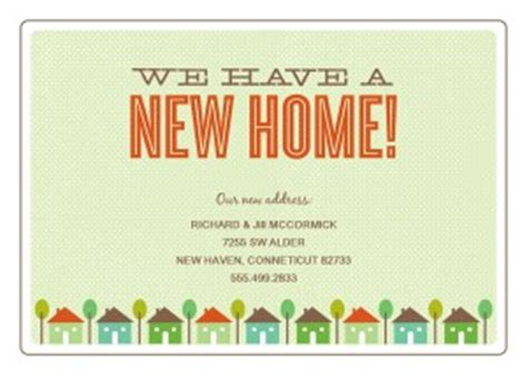 new home card template printable new home moving announcement template