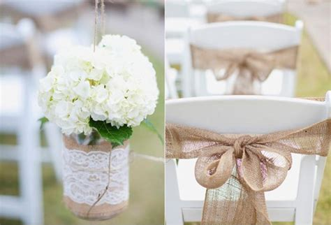 Wedding Table Decorations With Burlap by Burlap Wedding Decorations Myideasbedroom