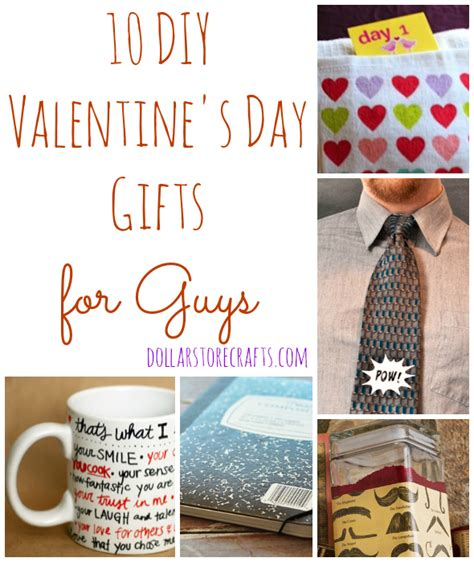 10 diy valentine s day gifts for guys pictures to pin on pinterest