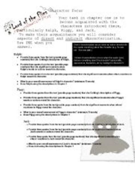 Lord Of The Flies Worksheets by Esl Worksheets For Adults Lord Of The Flies