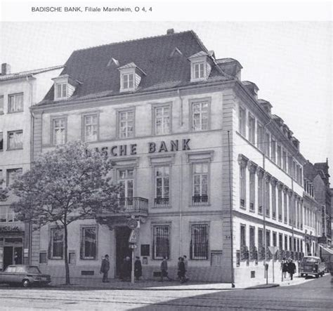 rhein neckar bank bankpalais ehem badische bank in mannheim rhein