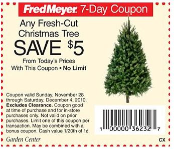 fred meyer fresh christmas trees fred meyer yet another deal 7ft fresh cut noble tree 25 49 coupon connections